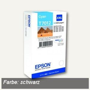 Epson Tintenpatrone XXL, WP4000/4500 Series, 3.400 Seiten, schwarz, C13T70114010