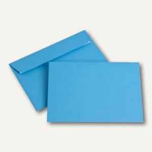Briefumschläge DIN C6, 100 g/m², haftklebend, intensivblau, 250 Stück