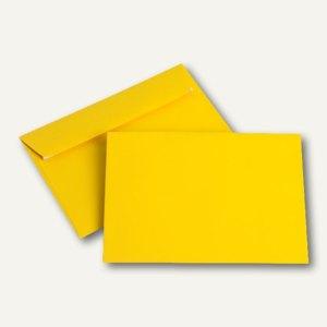 Briefumschläge DIN C6, 100 g/m², haftklebend, goldgelb, 250 Stück