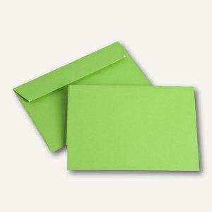 Briefumschläge DIN C6, 100 g/m², haftklebend, intensivgrün, 250 Stück