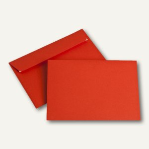 Briefumschläge DIN C6, 100 g/m², haftklebend, intensivrot, 250 Stück