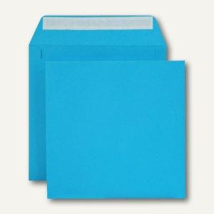 Briefumschlag, 160 x 160 mm, haftklebend, 120 g/m², königsblau, 500 Stück