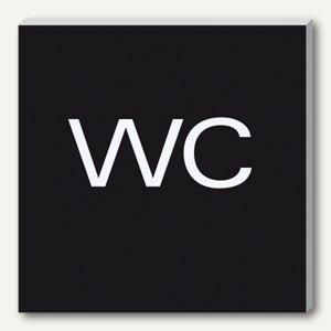 Wand-/Tür-Piktogramm pictoacrylic WC
