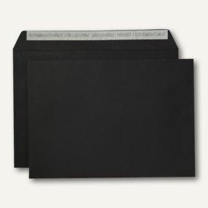 Briefumschlag, C4, haftklebend, 120 g/qm, schwarz, 250 Stück