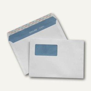Briefumschlag C5, haftkl., Innendruck, Fenster, FSC 90 g/qm, weiß, 500 Stück