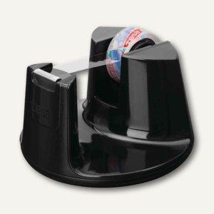 Tischabroller Easy Cut Compact, 33m x 19mm, inkl. kristall-klar, schwarz, 53827