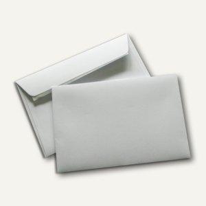 Briefumschlag, 120 x 180 mm, Seidenfutter, 90 g/m², weiß, 500 Stück