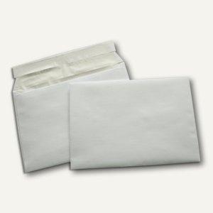 Briefumschlag DL, 110x220 mm, haftkl., Seidenfutter, 100g/m², gold, 500St.