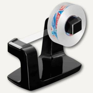 Tischabroller Easy Cut Frame, 33m x 19mm, inkl. kristall-klar, schwarz, 53831