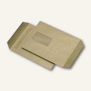 Versandtaschen C5, mit Fenster, selbstklebend, 90 g/qm, 500 Stück