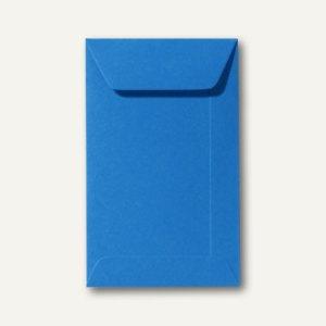Farbige Briefumschläge 65 x 105 mm, 120 g/m², nassklebend, königsblau, 500 Stück