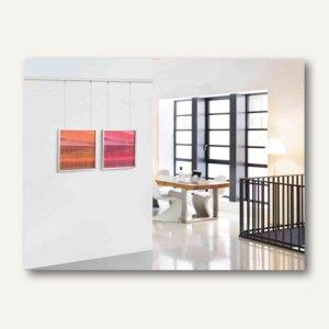 """Sigel Bilderschienen-Set """"gallery"""", Länge: 1.10 m, weiß, GA100"""