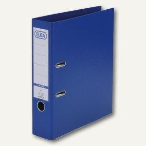 Elba Ordner smart PP/PP, 320x290mm, Rückenbreite 80mm, blau, 100202161