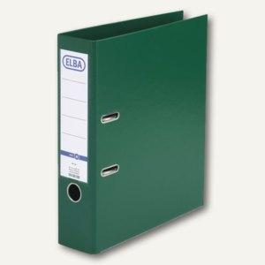 Elba Ordner smart PP/PP, 320x290mm, Rückenbreite 80mm, grün, 100202174