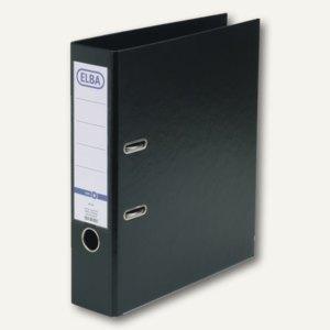 Elba Ordner smart PP/PP, 320x290mm, Rückenbreite 80mm, schwarz, 100202169