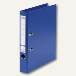 ELBA Ordner smart PP/PP, 285x318mm, Rückenbreite 50mm, blau, 100202094