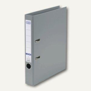 ELBA Ordner smart PP/PP, 285x318mm, Rückenbreite 50mm, grau, 100202098