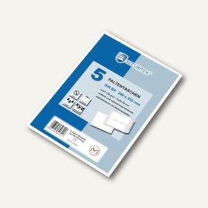 Faltenversandtasche SECURITEX, DIN B4, Falte 50 mm, Haftklebung, weiß, 5St.