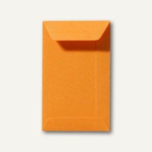 Farbige Briefumschläge 65 x 105 mm, 120 g/m², nassklebend, grellorange, 500 Stüc