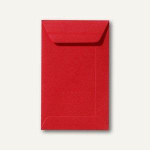 Farbige Briefumschläge 65 x 105 mm, 120 g/m², nassklebend, korallenrot, 500 Stüc