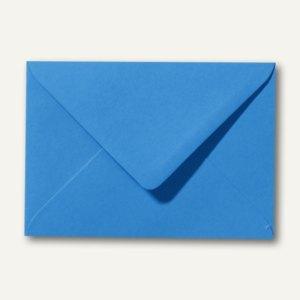 Farbige Briefumschläge 80 x 114 mm, C7, 120 g/m², nassklebend, königsblau, 500 S