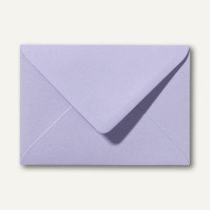 Farbige Briefumschläge 80 x 114 mm, C7, 120 g/m², nassklebend, lavendel, 500 St.