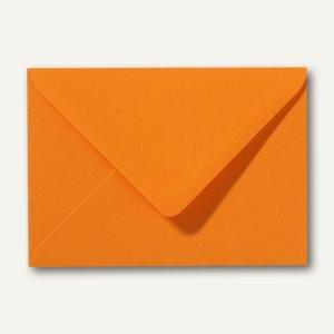 Farbige Briefumschläge 80 x 114 mm, C7, 120 g/m², nassklebend, grellorange, 500