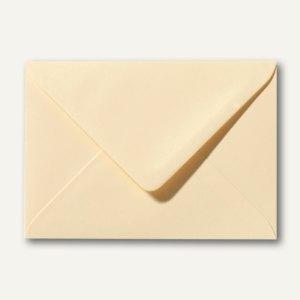 Farbige Briefumschläge 80 x 114 mm, C7, 120 g/m², nassklebend, chamois, 500 St.