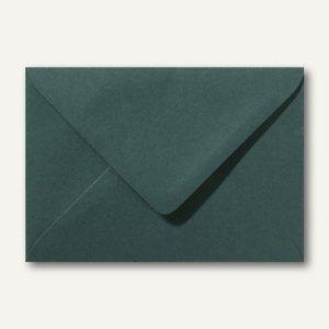 Farbige Briefumschläge 80 x 114 mm, C7, 120 g/m², nassklebend, dunkelgrün, 500 S