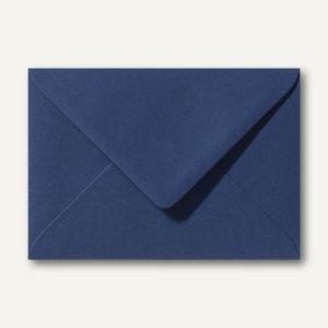 Farbige Briefumschläge 80 x 114 mm, C7, 120 g/m², nassklebend, dunkelblau, 500 S