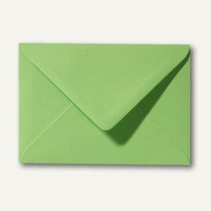 Farbige Briefumschläge 90 x 140 mm, 120 g/m², nassklebend, apfelgrün, 500 St.
