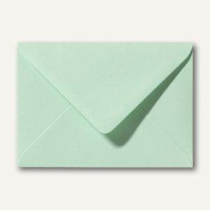 Farbige Briefumschläge 90 x 140 mm, 120 g/m², nassklebend, frühlingsgrün, 500 St