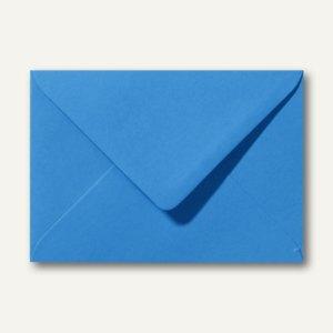 Briefumschläge 110 x 156 mm nassklebend ohne Fenster königsblau 500St.