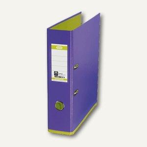 Elba Ordner myColour DIN A4, 80 mm, violett/hellgrün, 100081038