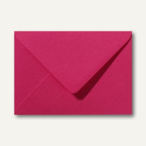Briefumschläge 110 x 156 mm nassklebend ohne Fenster fuchsie 500St.