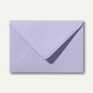 Briefumschläge 110 x 156 mm nassklebend ohne Fenster lavendel 500St.