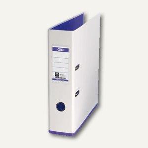 Elba Ordner myColour DIN A4, 80 mm, weiß/violett, 100081030