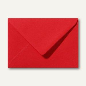 Briefumschläge 110 x 156 mm nassklebend ohne Fenster rosenrot 500St.