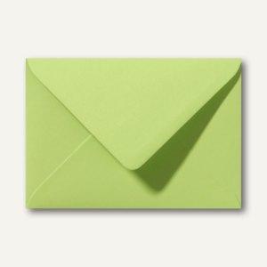 Briefumschläge 110 x 156 mm nassklebend ohne Fenster lindgrün 500St.