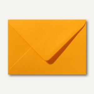 Briefumschläge 110 x 156 mm nassklebend ohne Fenster goldgelb 500St.