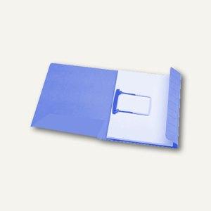 Clipmappe Secolor / DIN A4 blau 270 g/qm