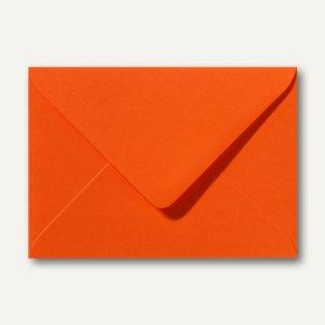Briefumschläge 110 x 156 mm nassklebend ohne Fenster dunkelorange 500St.
