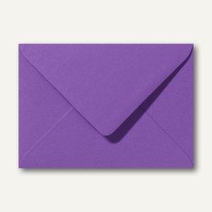 Briefumschläge 110 x 156 mm nassklebend ohne Fenster violett 500St.