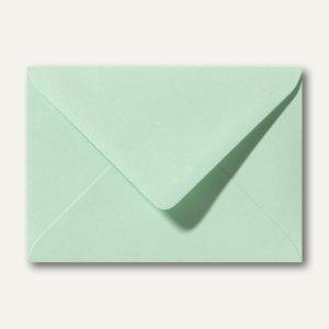 Briefumschläge 110 x 156 mm nassklebend ohne Fenster frühlingsgrün 500St.