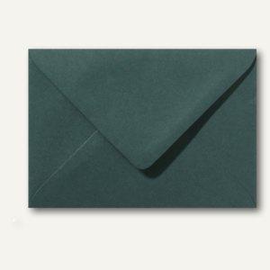 Briefumschläge 110 x 156 mm nassklebend ohne Fenster dunkelgrün 500St.
