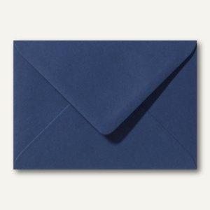 Briefumschläge 110 x 156 mm nassklebend ohne Fenster dunkelblau 500St.