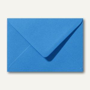 Briefumschläge 120 x 180 mm nassklebend ohne Fenster königsblau 500st.