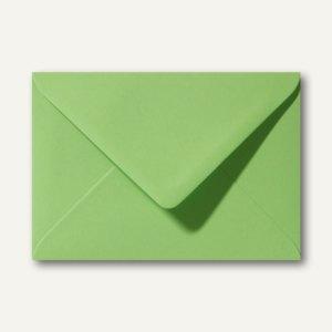 Briefumschläge 120 x 180 mm nassklebend ohne Fenster apfelgrün 500St.