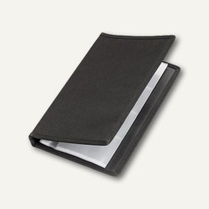 VELOFLEX Visitenkartenbuch Office/ schwarz, 4152880