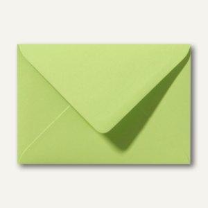 Briefumschläge 120 x 180 mm nassklebend ohne Fenster lindgrün 500St.